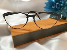 afa4d9dc3b Lindberg Strip Titanium Black  9551 Eyeglasses Frames w Original Authentic  Case