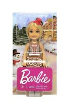 Barbie Christmas Chelsea Doll in Gingerbread Dress