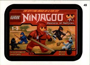WACKY PACKAGES   10th Series 2013 (ANS10) #  49  Lugee Ninjagoo