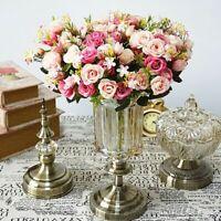 Artificial Rose Flowers Wedding bouquet Pink Rose Silk flower