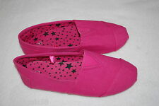 Girls Pink Canvas Casual Shoes Boat Deck Spring Summer Everyday Size 1