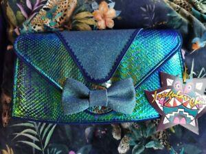 Irregular Choice Blue Lazy River Clutch Bag