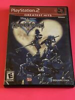 🔥SONY PS2 PlayStation Two 💯COMPLETE WORKING GAME 🔥DISNEY KINGDOM HEARTS