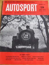 AUTOSPORT MAGAZINE DEC 1955 AUSTIN-HEALEY 100S ROAD-TEST CORVETTE SYRACUSE GP