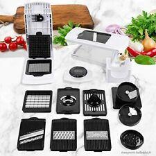 Mandoline Cuisine Multifonctions 10 en 1 Coupe Légumes Professionnel Solide