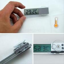 Transparent LCD Digital Temperature Meter Indoor Outdoor Car Thermometer Suction