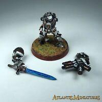 Metal Grey Knight Terminator Space Marine Painted - Warhammer 40K X4008