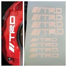 8 pc set TRD Brake Caliper Vinyl Sticker Decal Logo Graphics Emblem Toyota //TRD