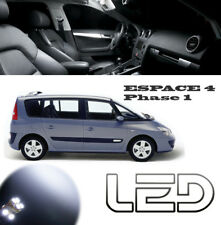 Renault ESPACE 4 PH1 IV 19 bombillas LED Blanco Luz techo Maletero espejos
