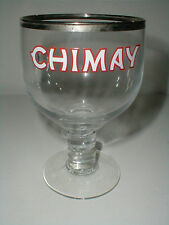 Chimay Glass Belgium Advertising Trappist Monestary Beer Goblet/s