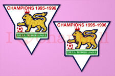 England Premier League Champion 95-96 Sleeve Gold Patch / Badge ManUnited Jersey