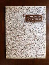 CAMOSINE Annales des Pays Nivernais N°13 - 2e T. 1976 PLANS D'EAU DE LA NIÈVRE