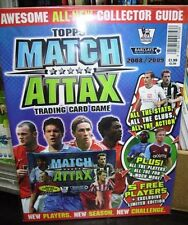 Match Attax Guide with limited card pack new & sealed 2008 - 2009