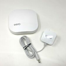 (1) eero Pro 1st Generation Mesh WiFi Router or Extender White A010001