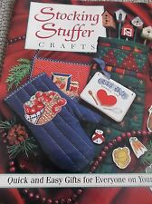 CHRISTMAS STOCKING STUFFER 26  CRAFTS PATTERNS PLANT POKES SEWING COASTERS