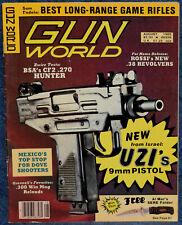 Magazine GUN WORLD August 1985 !!BSA Model CF2 .270 Win 20-inch Barrel CARBINE!!