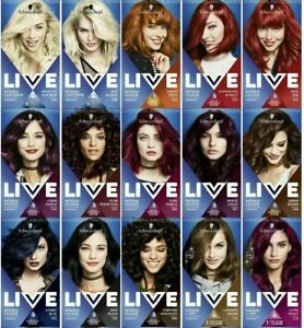 Schwarzkopf Professional Live Intense Colours | Permanent Hair Dye | Free uk
