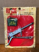 1964 GI Joe Action Soldier Machine Gun and Ammo Box set on card