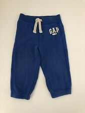 Baby Gap Toddler Boys 18-24 Months Arch Logo Fleece Jogger Pants