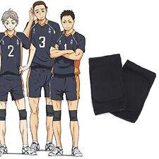 Haikyuu! Karasuno High School Volleyball Hinata Shyouyou Kneepad 1pair Kneecap