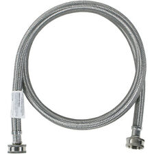 Certified Appliance Accessories Washing Machine Hose - 5 Ft.  -  Stainless Steel