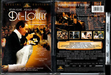 DVD Kevin Kline DE-LOVELY Ashley Judd Natalie Cole Porter Story WS SE OOP R1 NEW