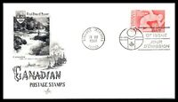 1967 CANADA FDC Cover - Postage Stamps, 5c Pan American Games, Winnipeg N14