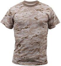Army USMC Digital Camouflage Marines Tactical Military Short Sleeve T-Shirt 6494