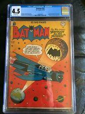 BATMAN #59 CGC VG+ 4.5; OW; origin & 1st app. of Deadshot; Joker cameo!