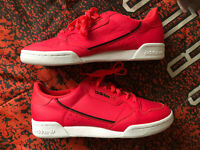 NEW Adidas Originals Continental 80 Mens size 10 SHOCK RED CG7131 *SHIPS TODAY*