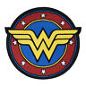 Wonder Woman Iron On Patch Super Hero Logo Embroidered Sew On Feminist