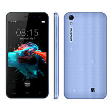 "HOMTOM HT16 5"" 3G Unlocked Smartphone Android 6.0 Cell Phone Quad Core GPS Blue"