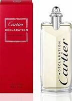 Declaration By Cartier 3.3 oz EDT Spray New In Box Sealed Cologne For Men