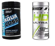 Cellucor SUPER HD ULTRA + NUTREX AQUA LOSS - FAT BURNER / DIURETIC STACK *SALE*