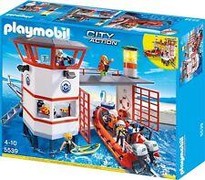 PLAYMOBIL City Action 5539 - Küstenwachstation mit Leuchtturm, NEU & OVP