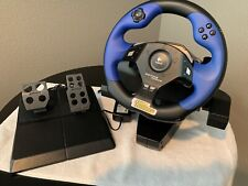 Logitech Driving Force Steering Wheel & Pedals (Playstation 2 PS2) E-UC2 Racing