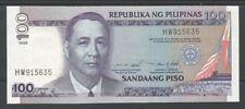 FILIPPINE / PHILIPPINES - 100 Piso 1999 aUNC  Pick 184d