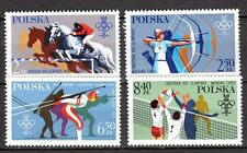 Poland - 1980 Olympic games Lake Placid & Moscow - Mi. 2674-77 MNH