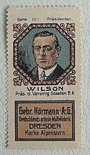 (r33) la publicidad marca waffles Alpes estrella presidente Wilson