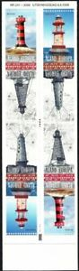 Aland 2008 (06) - Lighthouses of Aland (booklet)