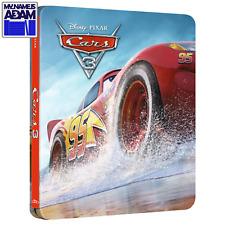 CARS 3 Blu-ray 3D + 2D STEELBOOK