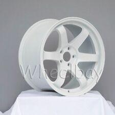 ROTA WHEEL GRID  18X9.5  5X114.3 20 73 WHITE EVO STI 240SX