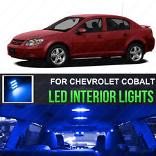 For 2005-2010 Chevrolet Cobalt Ultra 10000K Blue LED Interior Lights Kit 7 Piece