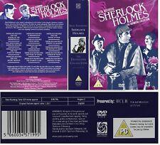 SHERLOCK HOLMES 1939-1946 - BASIL RATHBONE Remastered Collection - NEW DVD UK