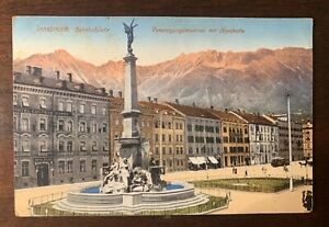 innsbruck Bahnhofplatz ,Austria c.1912