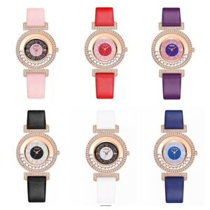 Womens Watches Ladies Wrist Watch Casual Leather Quartz S Steel Analogue Fashion