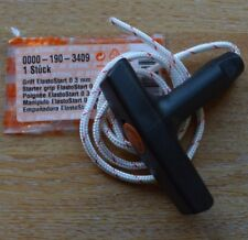 Genuine Stihl MS201T MS200T Elastostart Pull Start Grip 3mm Cord 0000 190 3409