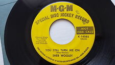SHEB WOOLEY - The One Man Band / You Still Turn Me On '69 PROMO Country Pop Folk