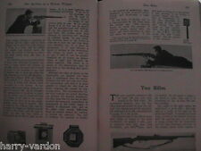 Lee Enfield Rifle Air Gun Early Motor Car Driving Faure Antique Articles 1906
