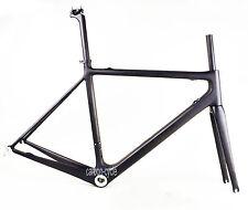 950g 52cm Carbon Road Bike Frame Fork BB30 Internal Di2 UD Matt Race Part 700C
